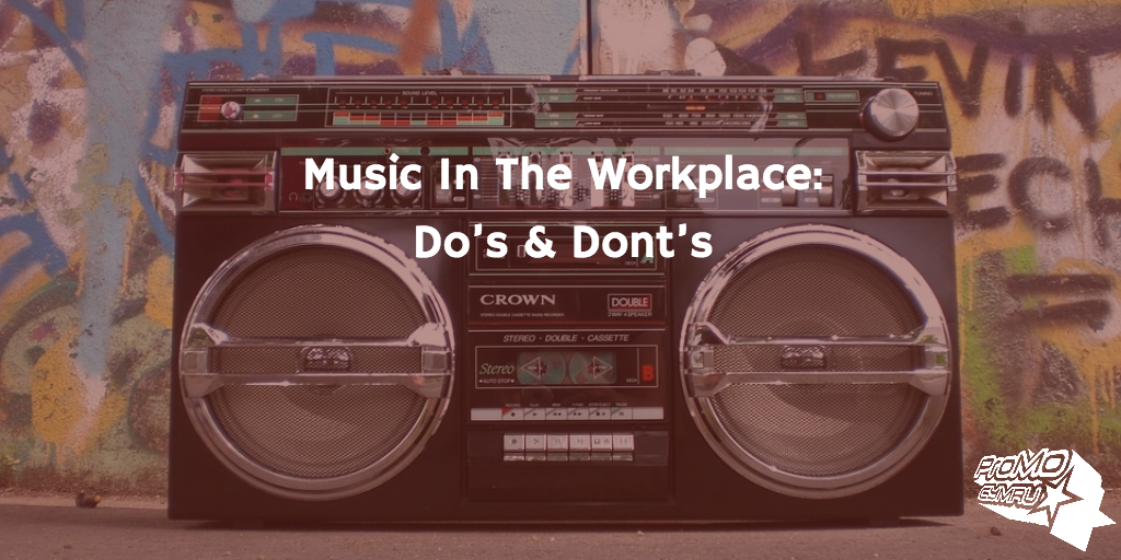 Boombox fo Music In the Workplace article