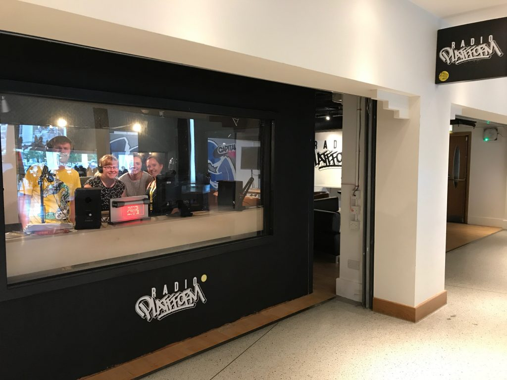 Radio Platfform, WMC, youth-led radio station