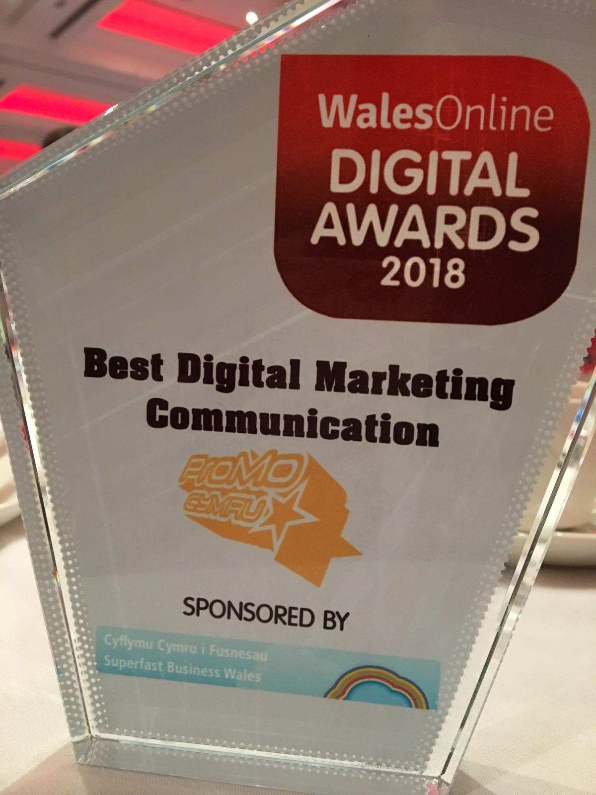Best Digital Marketing Communication Award