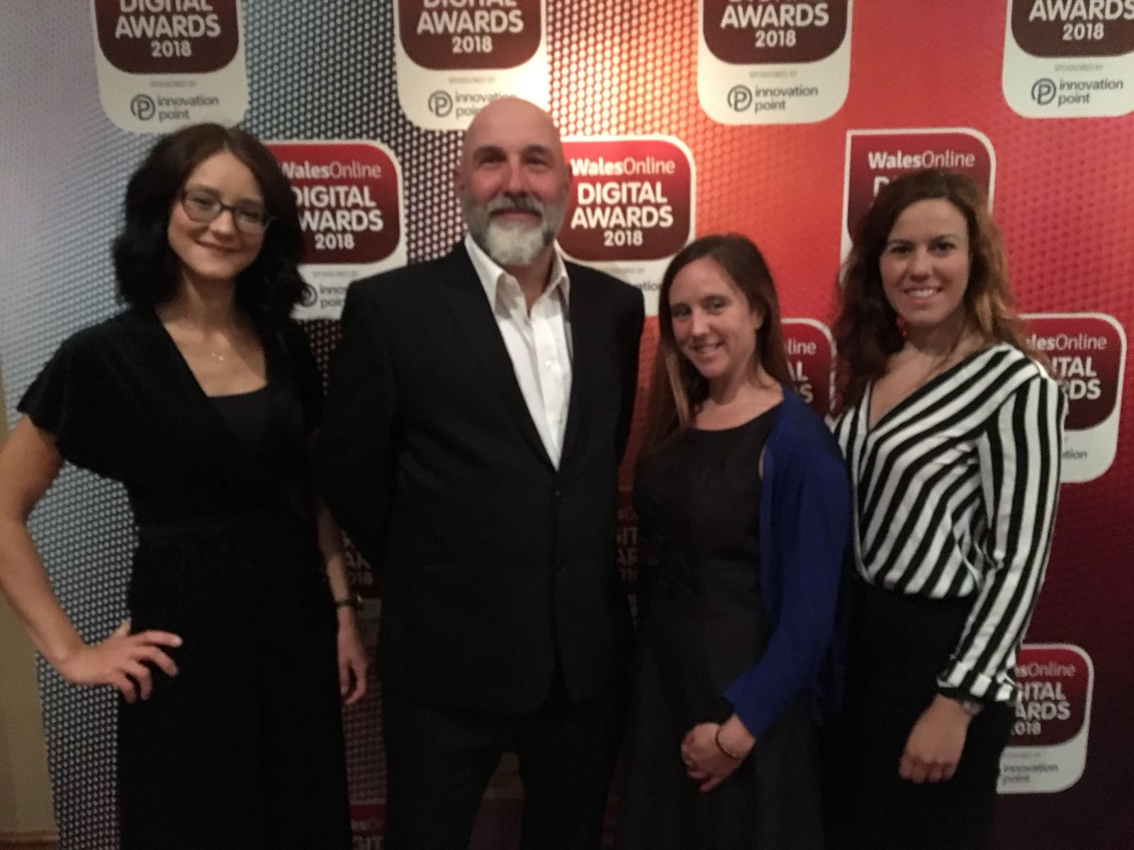 The ProMo team at the Digital Awards 2018